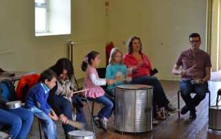 Samba drumming Workshop '15