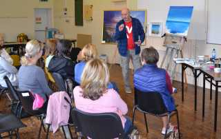 Art Workshop with Robert Shaw
