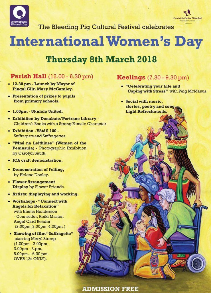INTERNATIONAL WOMEN'S DAY POSTER 2018